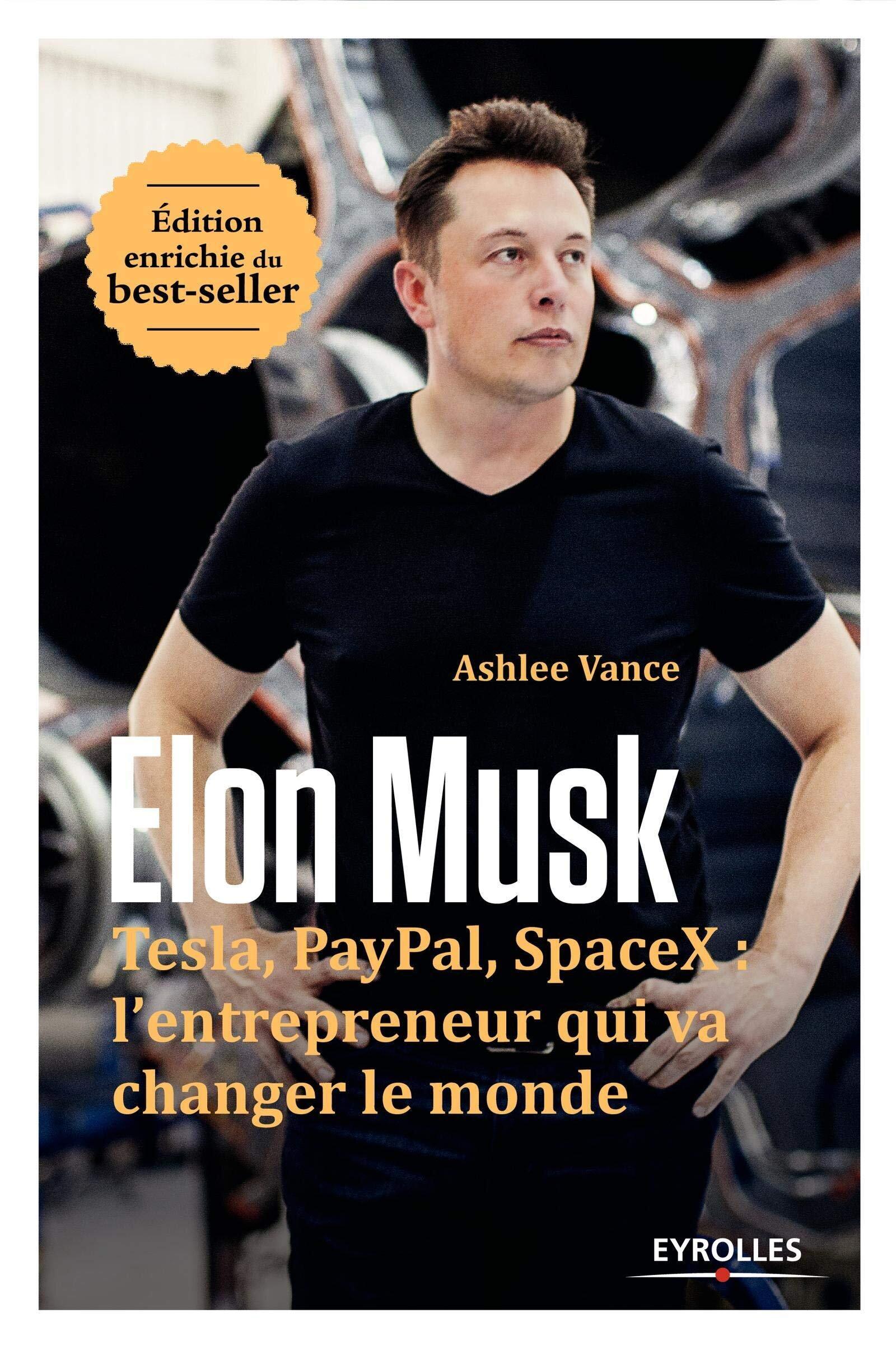 Résumé : - Elon Musk fait partie de ceux qui changent les règles du jeu. Largement considéré comme le plus grand industriel du moment, il porte l'innovation à des niveaux rarement atteints au point d'avoir servi de modèle pour Tony Stark, alias Iron man. Ashlee Vance nous conduit au plus près d'Elon Musk. Il montre toute l'intensité de cet homme, son génie tumultueux, sa folle exigence envers lui-même et ses équipes, depuis son enfance agitée en Afrique du Sud jusqu'à ses incroyables innovations techniques et réussites entrepreneuriales.À travers ce portrait d'un des titans de la Silicon Valley, ce livre met au jour les mutations rapides et inéluctables de nos modèles industriels. Car ce ne sont plus seulement des réseaux sociaux ou des messages en 140 signes qui sont proposés par cette nouvelle économie, mais des voitures, des trains, des fusées. Visionnaire ? Mégalomane ? Elon Musk dessine en tout cas les contours du xxie siècle.