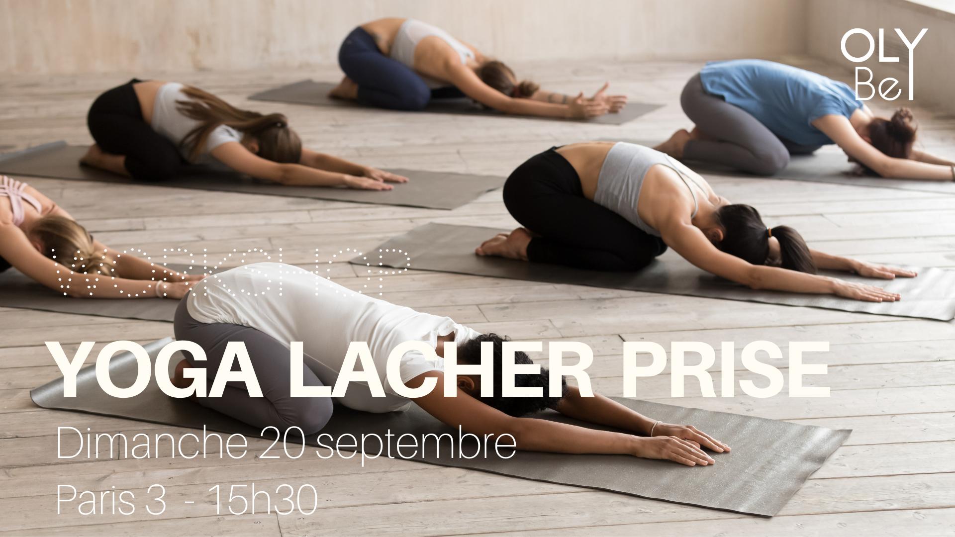 DIMANCHE 20 SEPTEMBRE - De 15h30 à 17h30 chez Yoga Searcher - Paris 3Avec notre professeure certifiée, Laure.Infos & Réservations sur l'app ! 📲