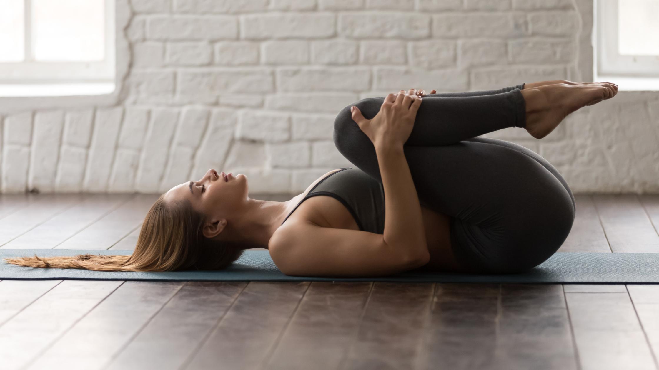 yoga posture apanasana