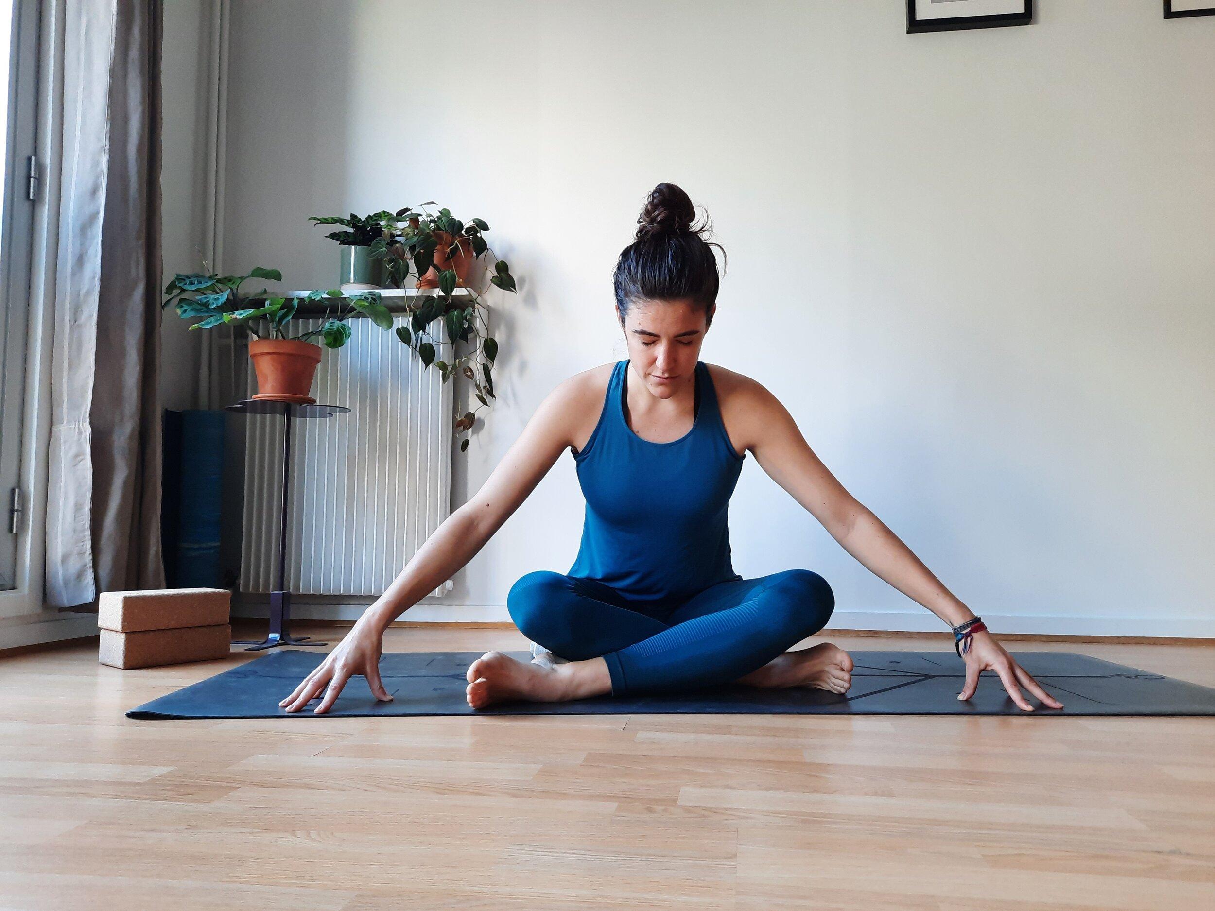 Valentine, professeure de yoga et de méditation chez OLY Be