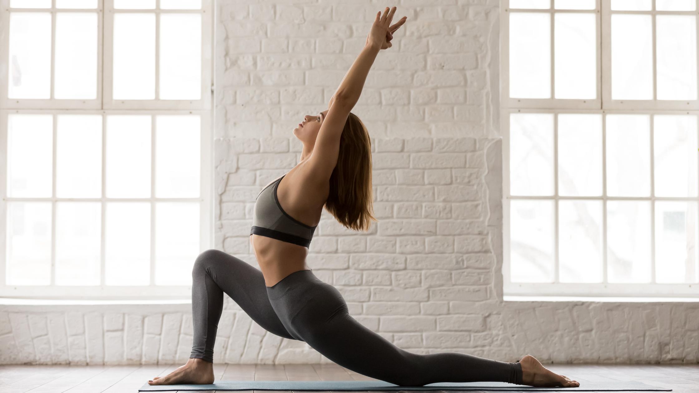 yoga fente basse