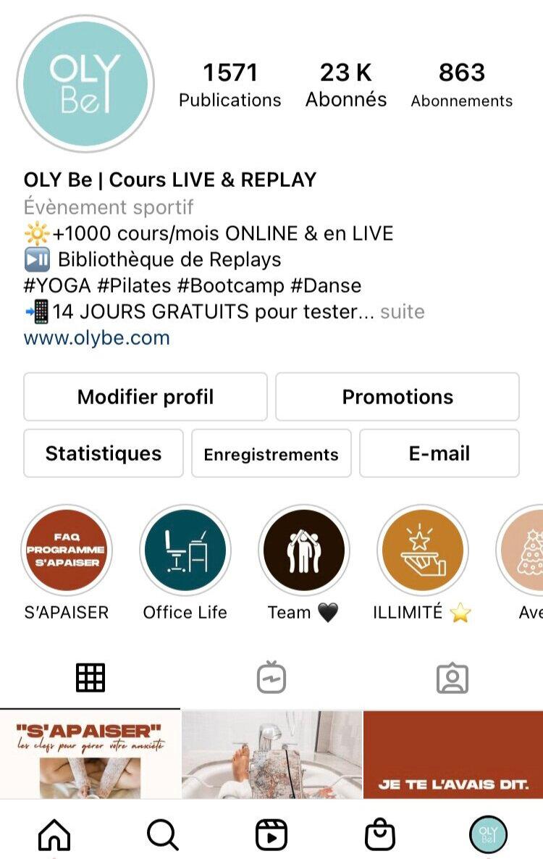 instagram olybe