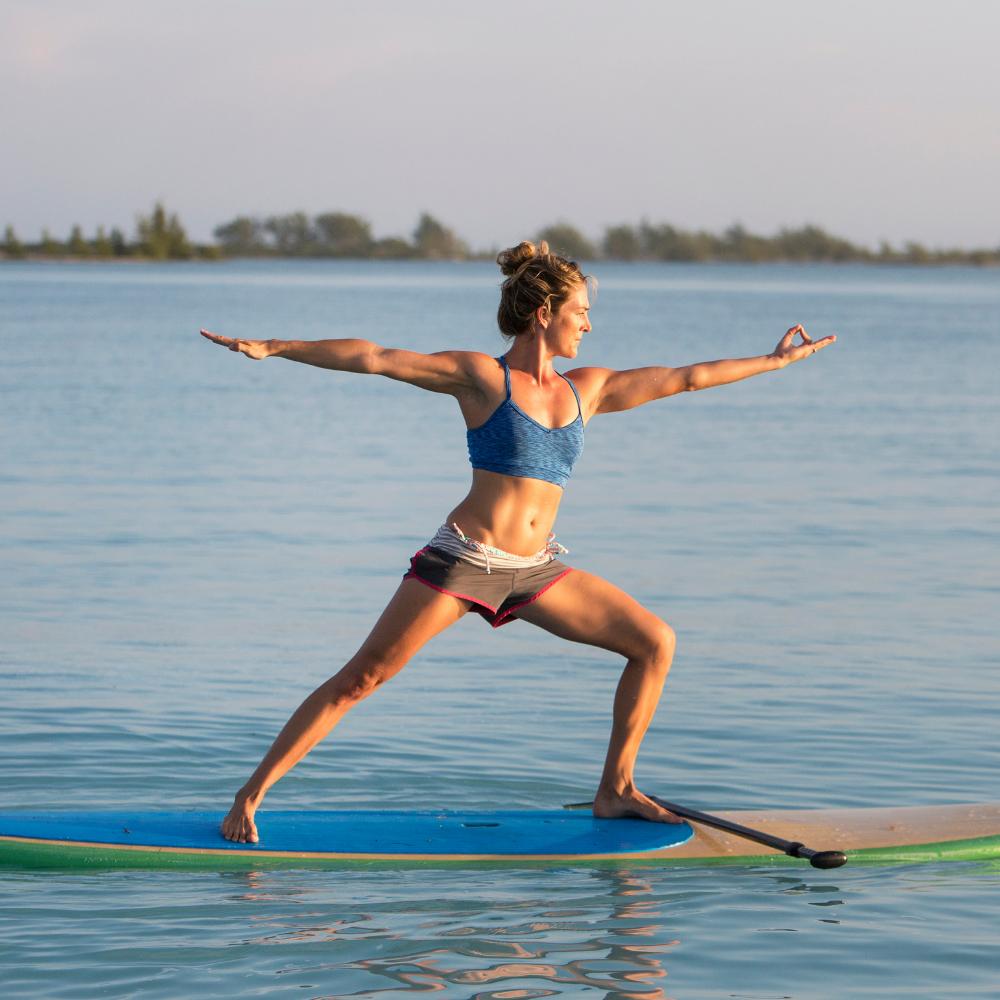 Insolite : le paddle Yoga ! -