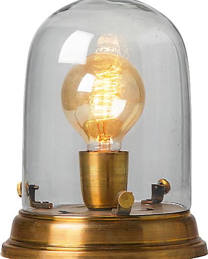Bordslampa Edison brass, 1299 kr, Watt & veke.