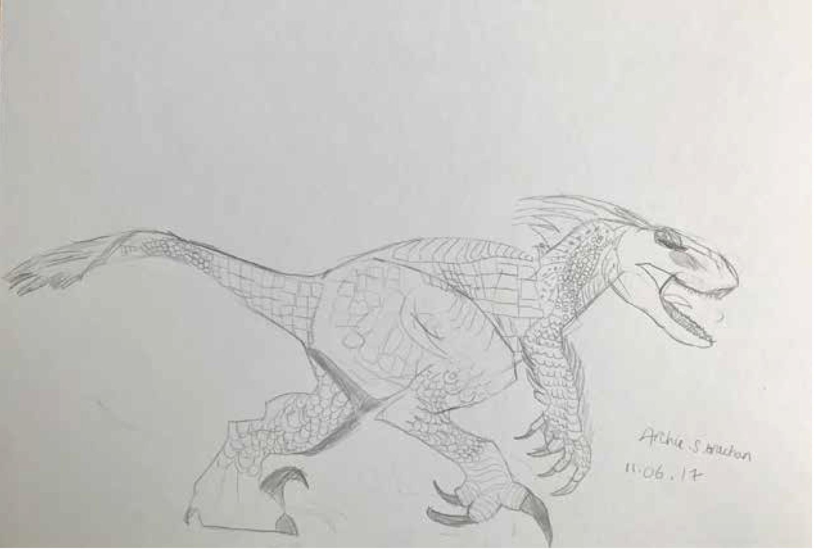 Archie's Dinosaur - 2017