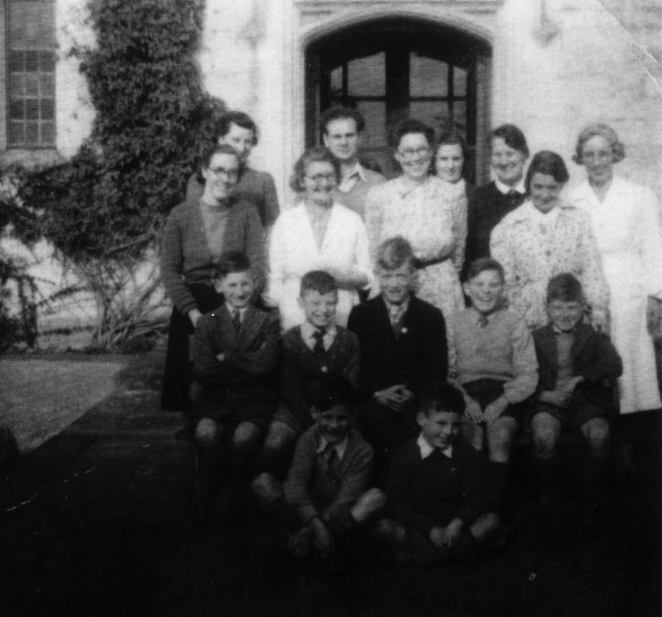 NCH children in 1950 before leaving UK.jpg
