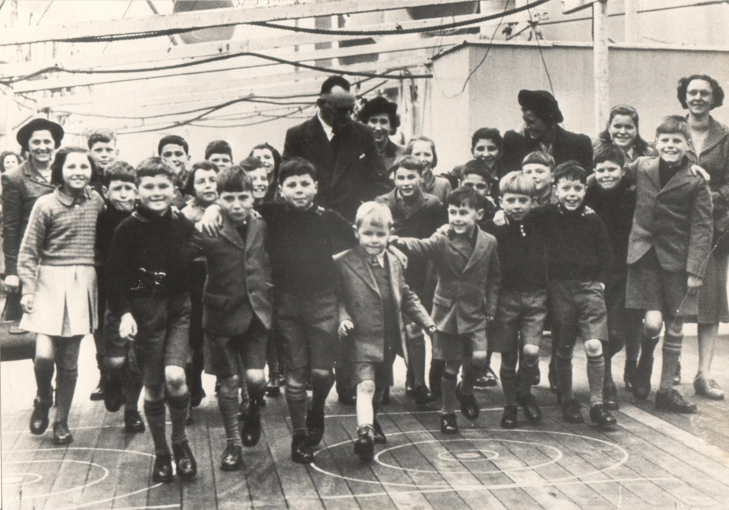 Ormonde arriving in Fremantle on 15th January 1949.JPG