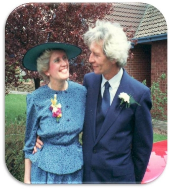 Harold and his sister, Marie, with whom he was finally reunited after decades apart
