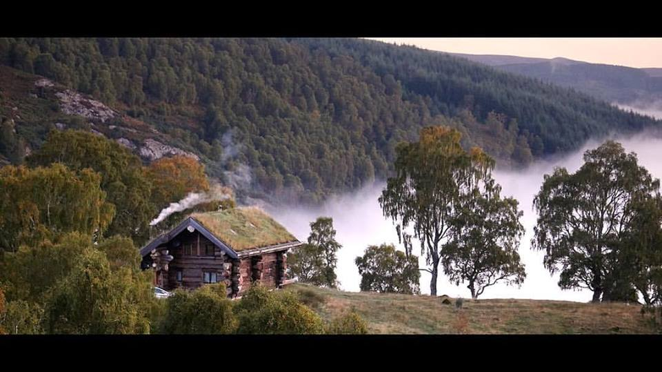 One of the Log Cabins above the cloud