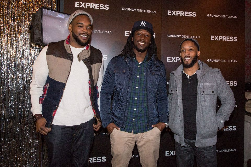 Men of the NFL in the House