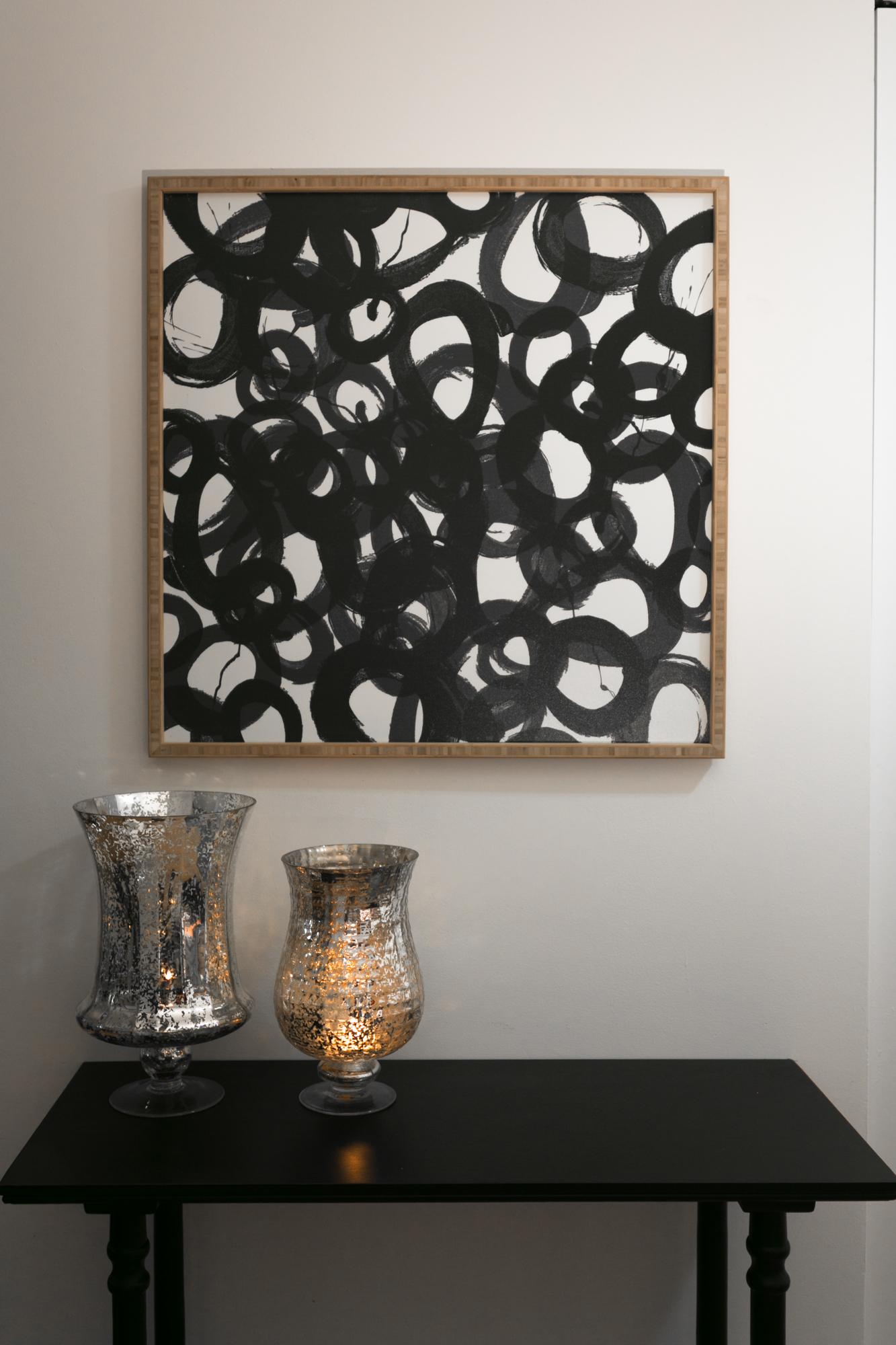 Table by Safaveih + Circles Artwork by Deny Designs