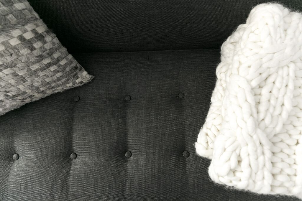 The Masculine Silhouette + Rich Details of the Monroe Sofa | Kyle Schuneman x Apt2B