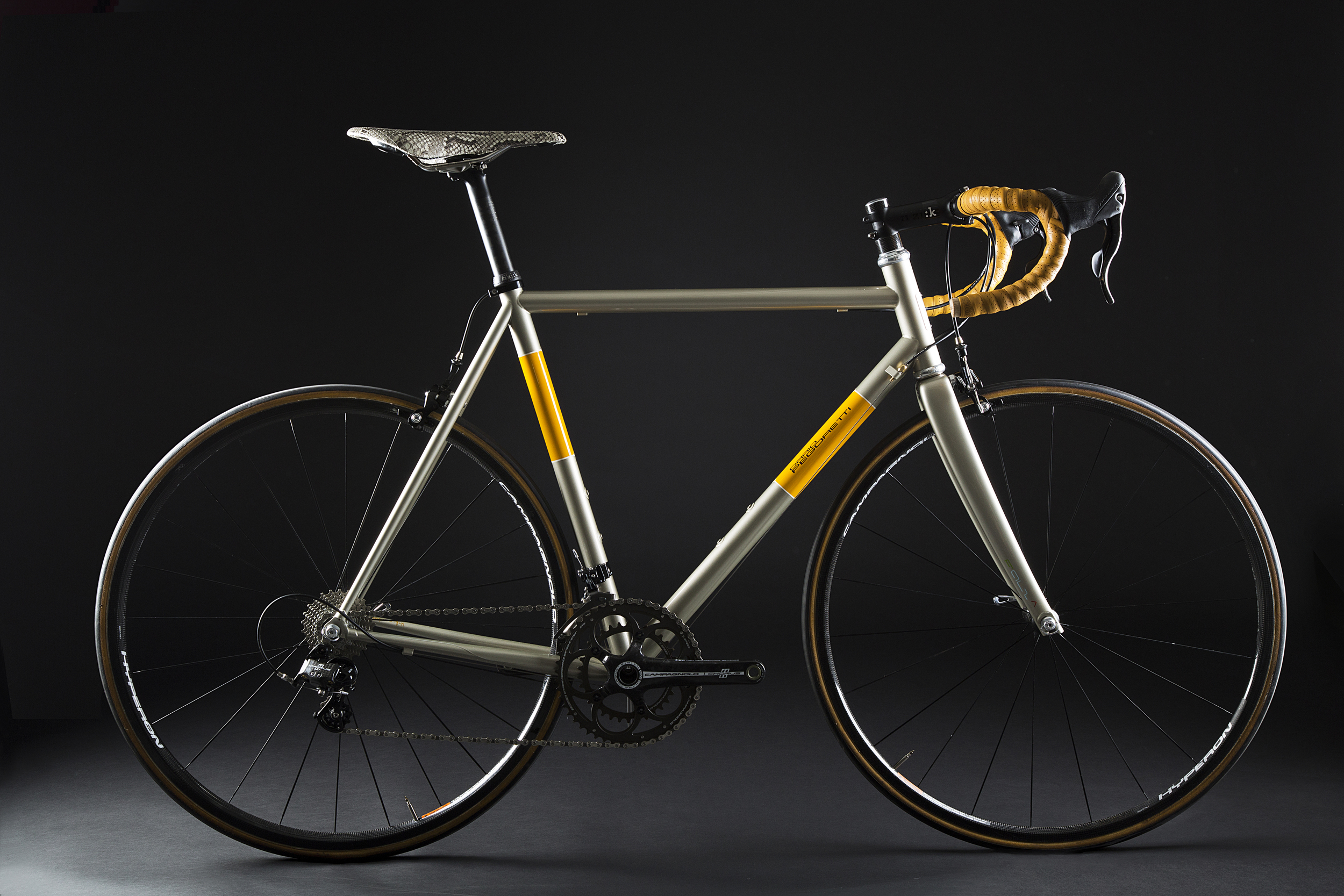 Pegoretti Duende Faema Champagne Bicycle, $3,350,  click link to purchase