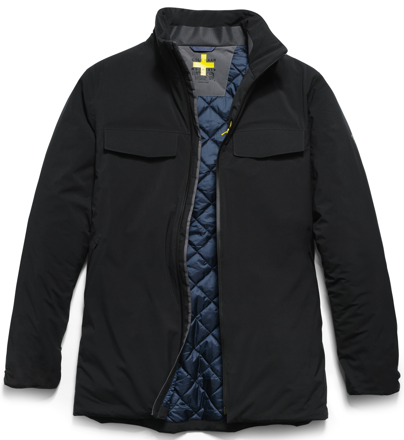 Cole Haan ZerøGrand Motoring Coat, $450