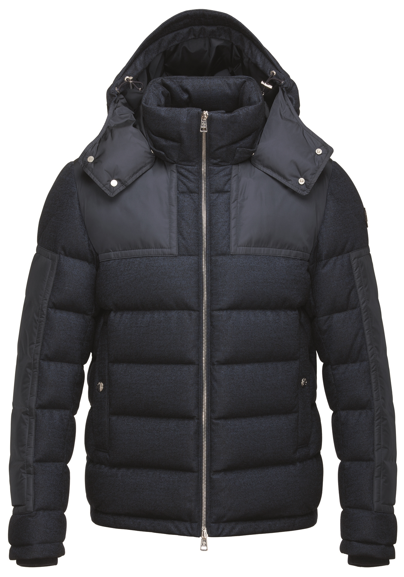 Moncler Blue Wool Down Severac Jacket, $2,075