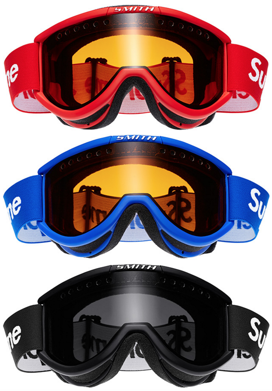 Supreme x Smith Optics Cariboo OTG Ski Goggles, $68