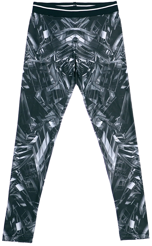 ACROSPHERE Chaos Reaction Printed Legging, $45