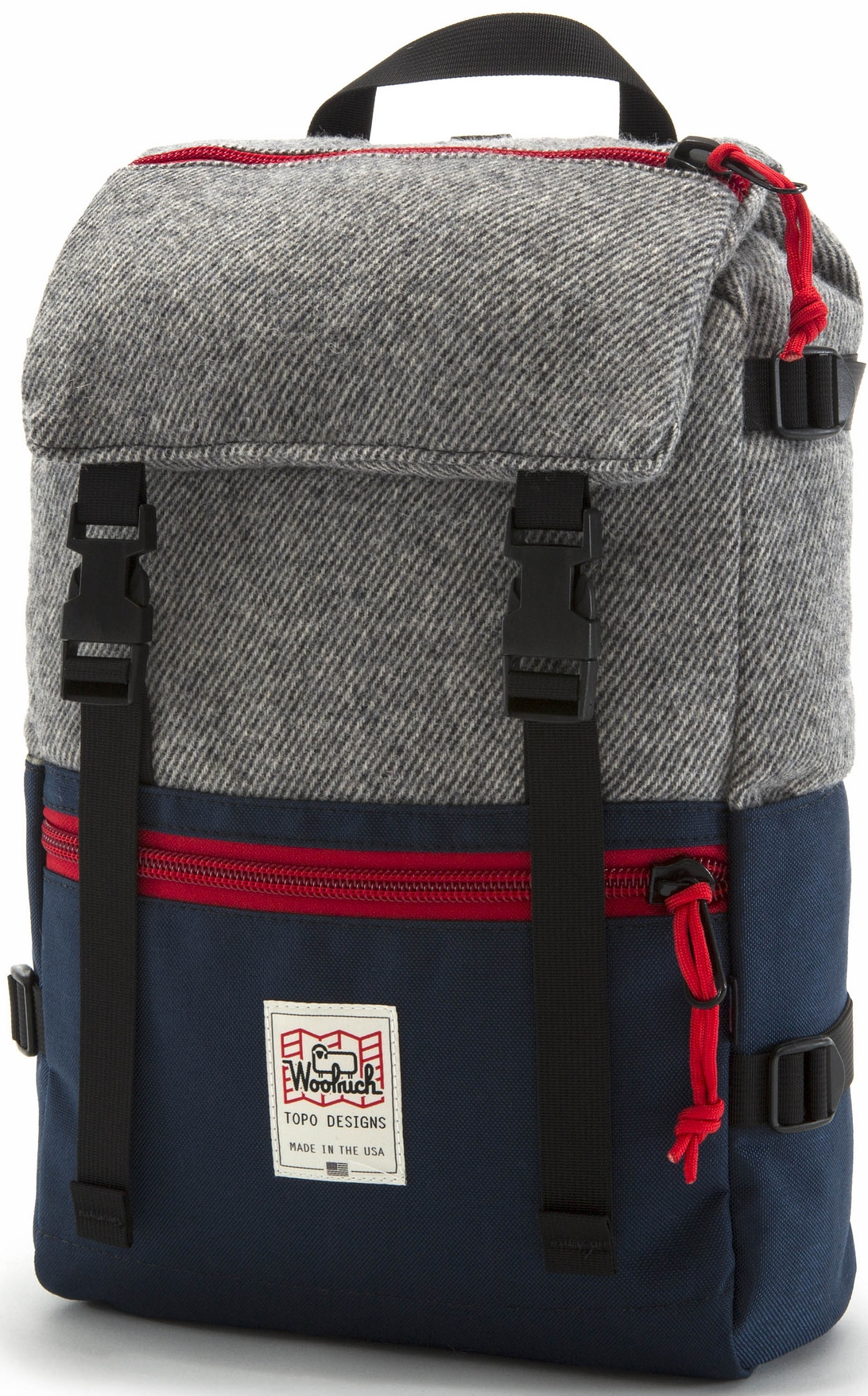 Topo Designs x Woolrich Rover Pack, $200