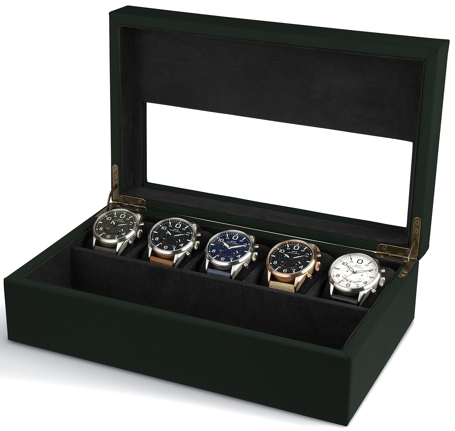 AVI-8 Collector Box, $50