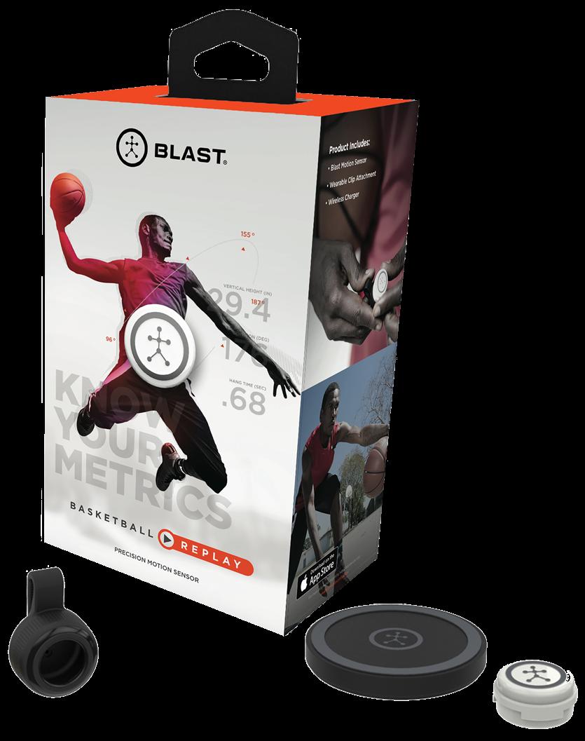 Blast Motion Basketball Replay, $150
