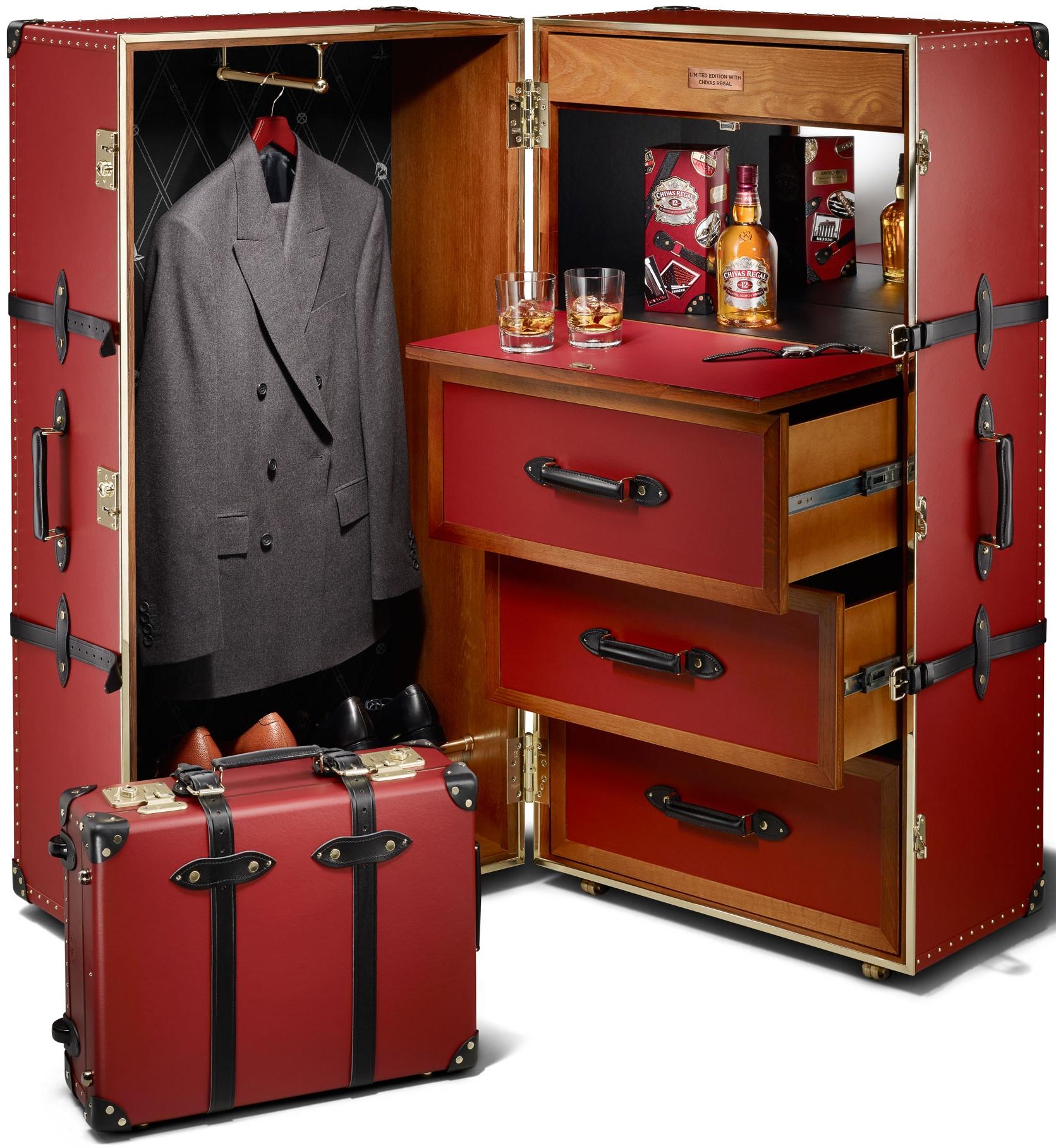 Chivas 12 'Made for Gentlemen' Steamer Trunk, $13040