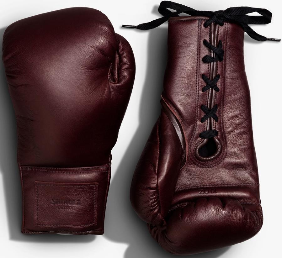 Shinola x Muhammad Ali Leather Boxing Gloves, $500
