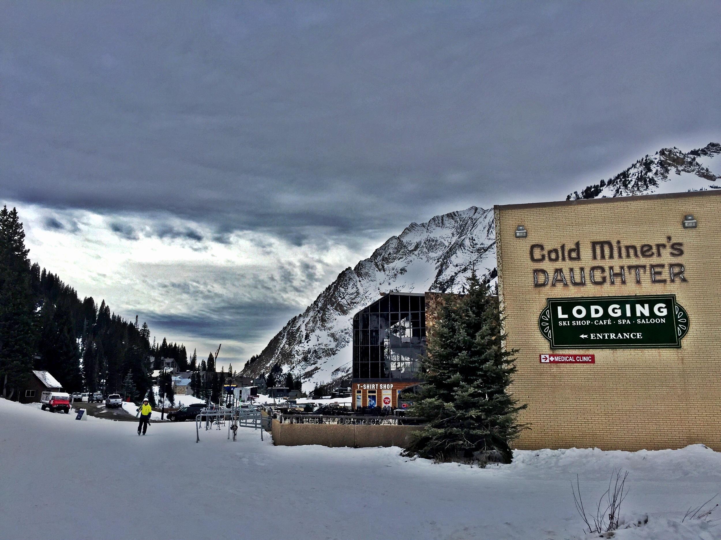 Grungy Slopes, Alta Utah, Goldminer's Daughter Lodge 1.jpg