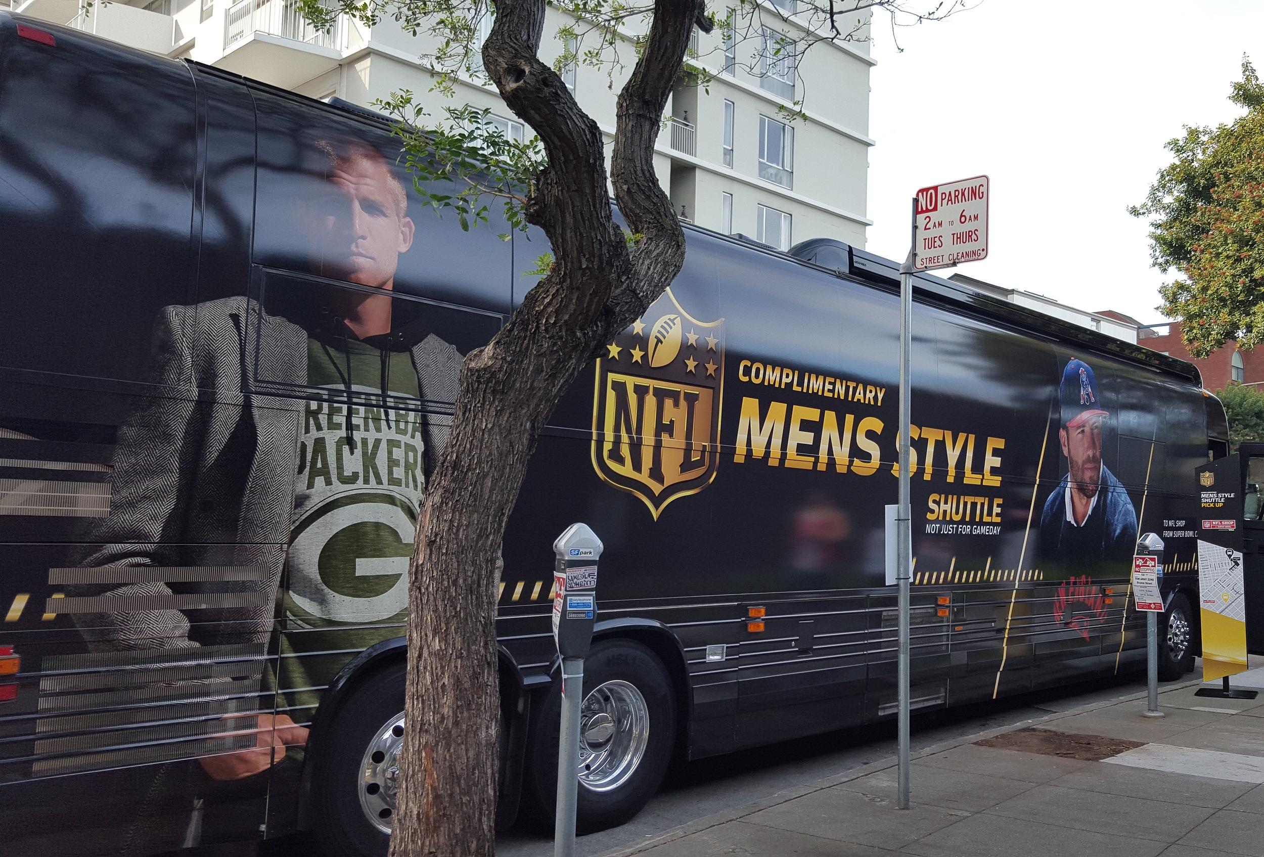 Jordy Nelson x Grungy Gentleman x NFL bus.JPG