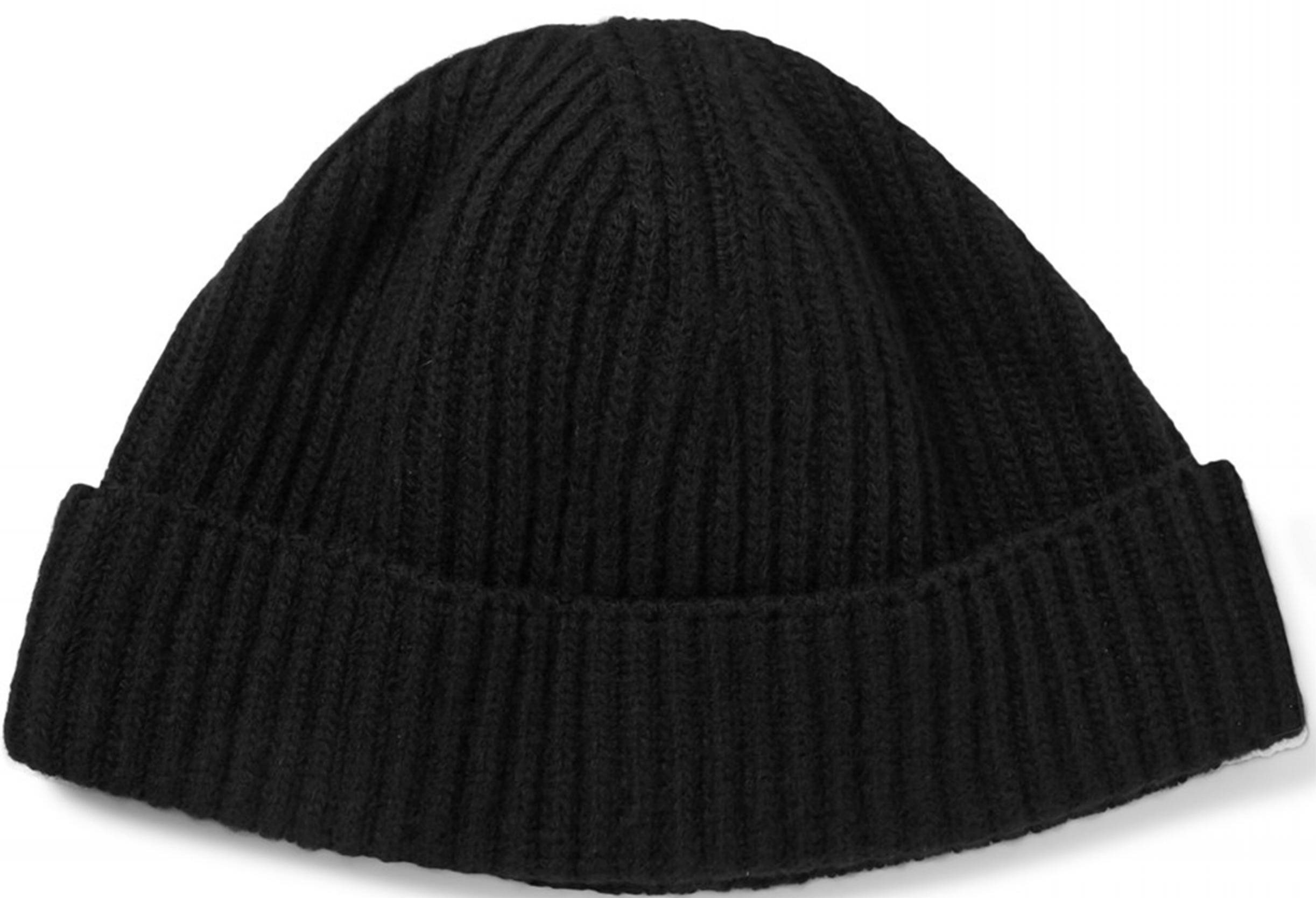 Lanvin Ribbed Wool Beanie at Mr. Porter, $245