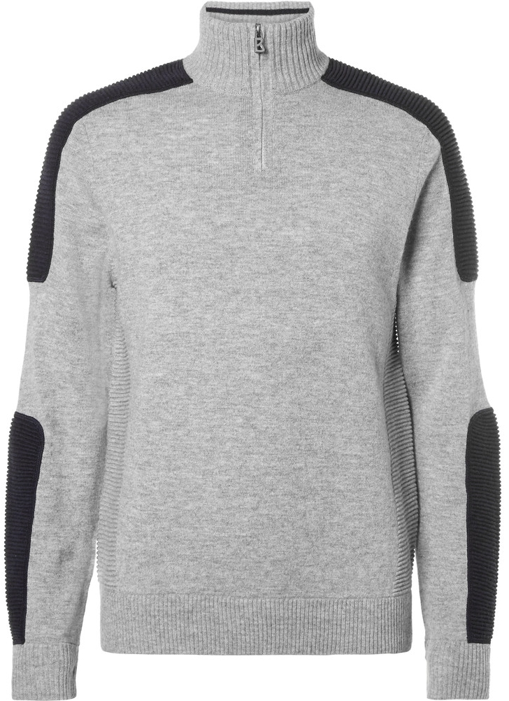 Bogner Ulric Ribbed Wool And Cashmere-Blend Mid-Layer Top at Mr. Porter, $550