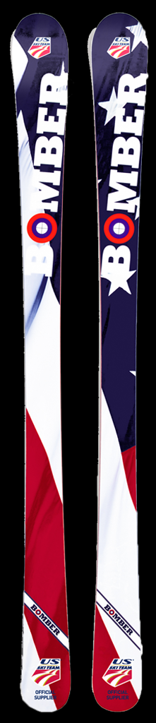 Bomber All Mountain Stars and Stripes Skis, $1,900