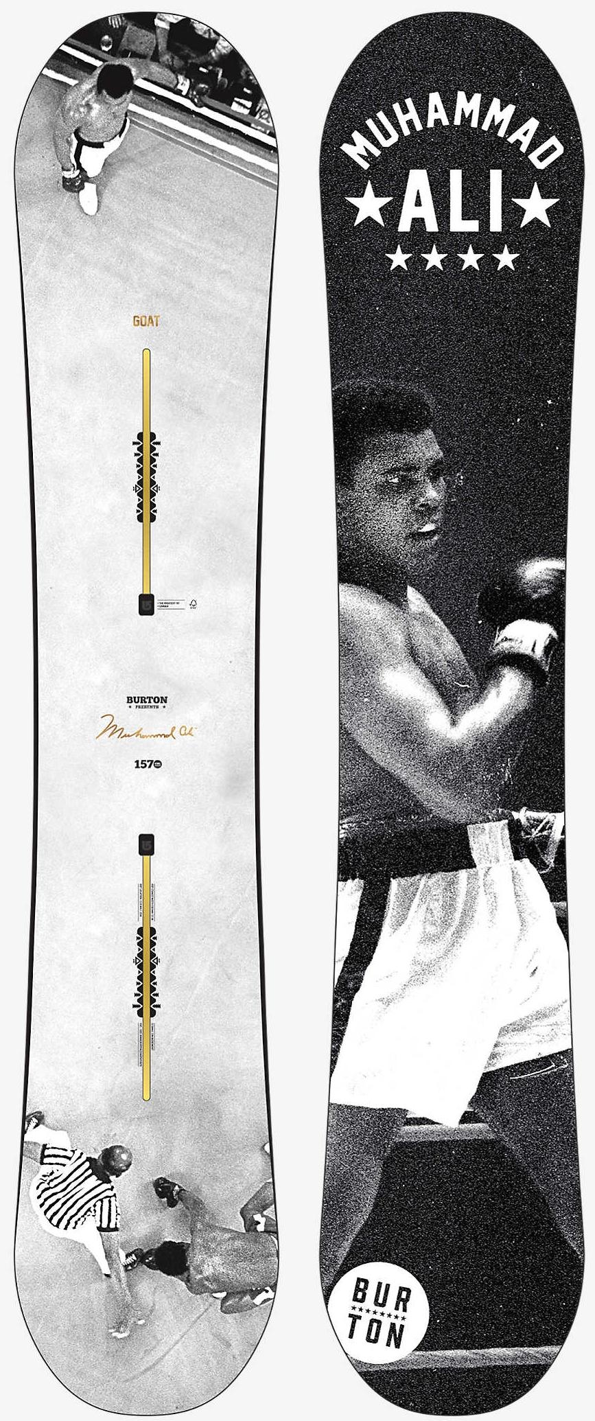Burton x Ali The Greatest Snowboard, $499.95