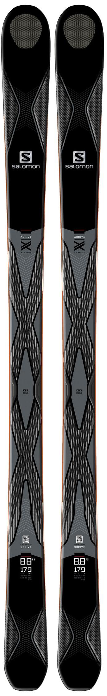 Salomon X-DRIVE 8.8 FS Skis, $699.95