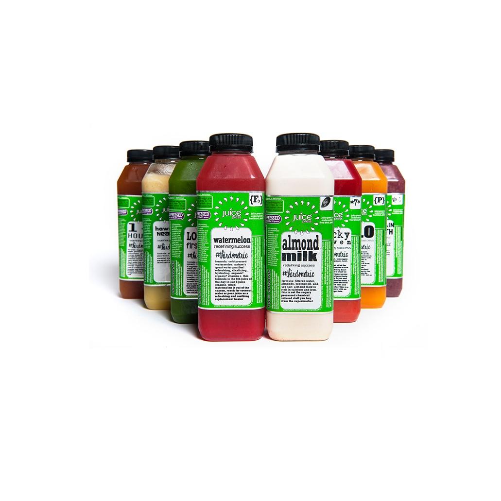 Juice Press, $10.99 each