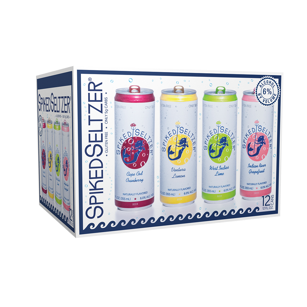 Spiked Seltzer, $26.99