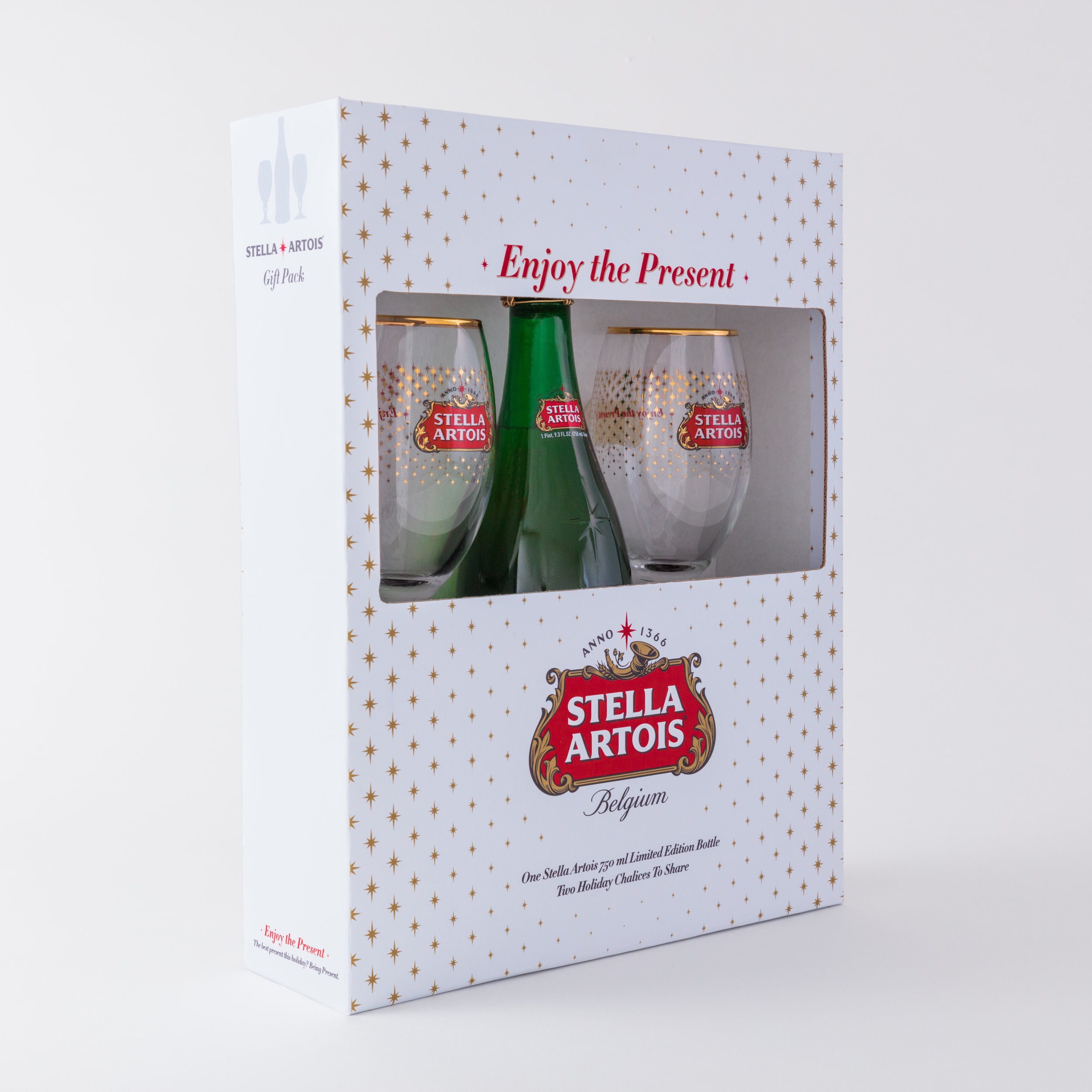 Stella Artois, $19.99