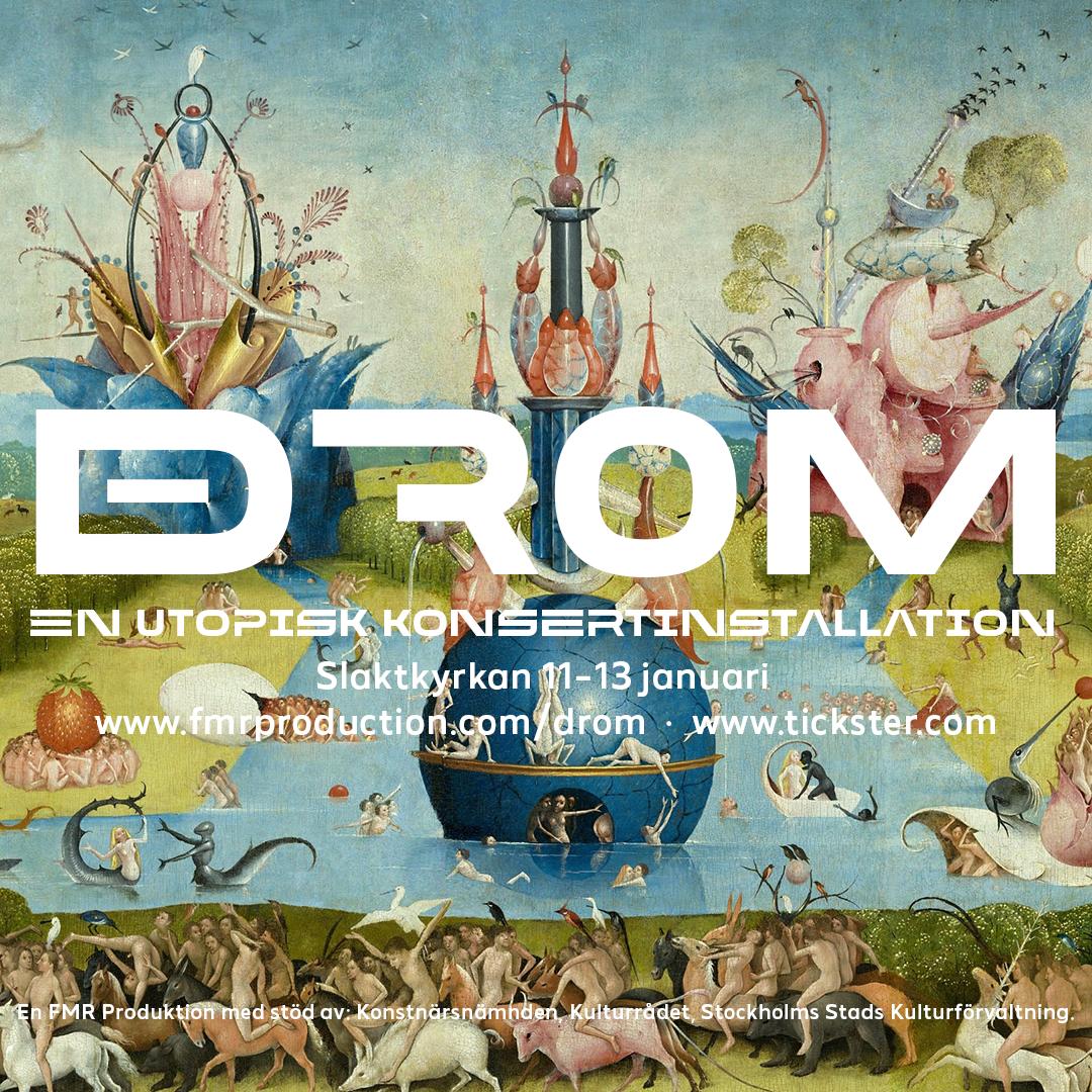 DROM - Fyrkantig bild med text 2,3MB