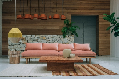 My favorite and the 2nd most expensive of the bunch (ain't that always the way) the aptly named  Dreamer Sofa from Pop & Scott  is my #1 furniture crush of the moment.