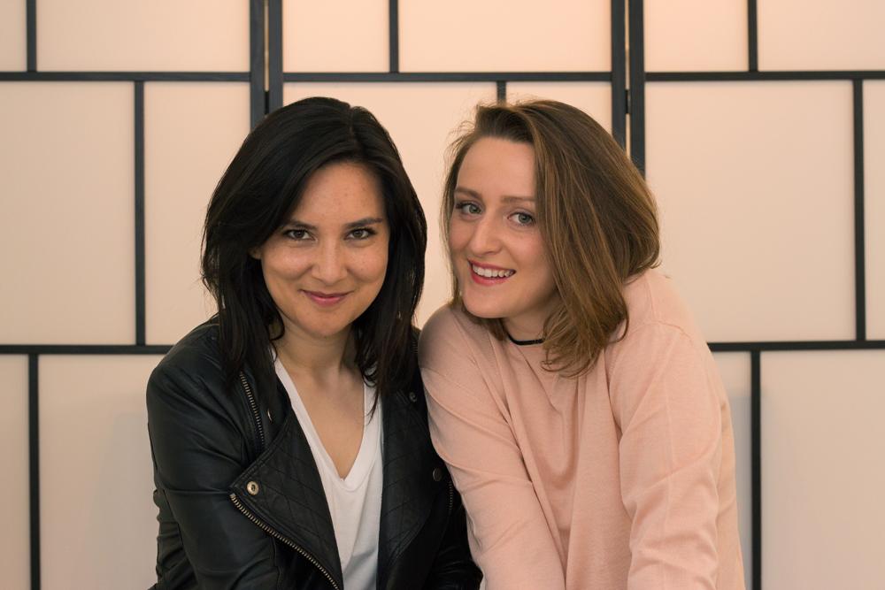 Anya & Arina, founders of Woronstore