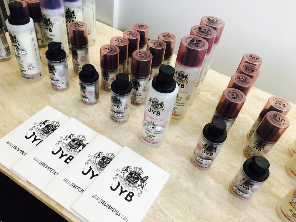 100% Bio-Organic JYB Cosmetics