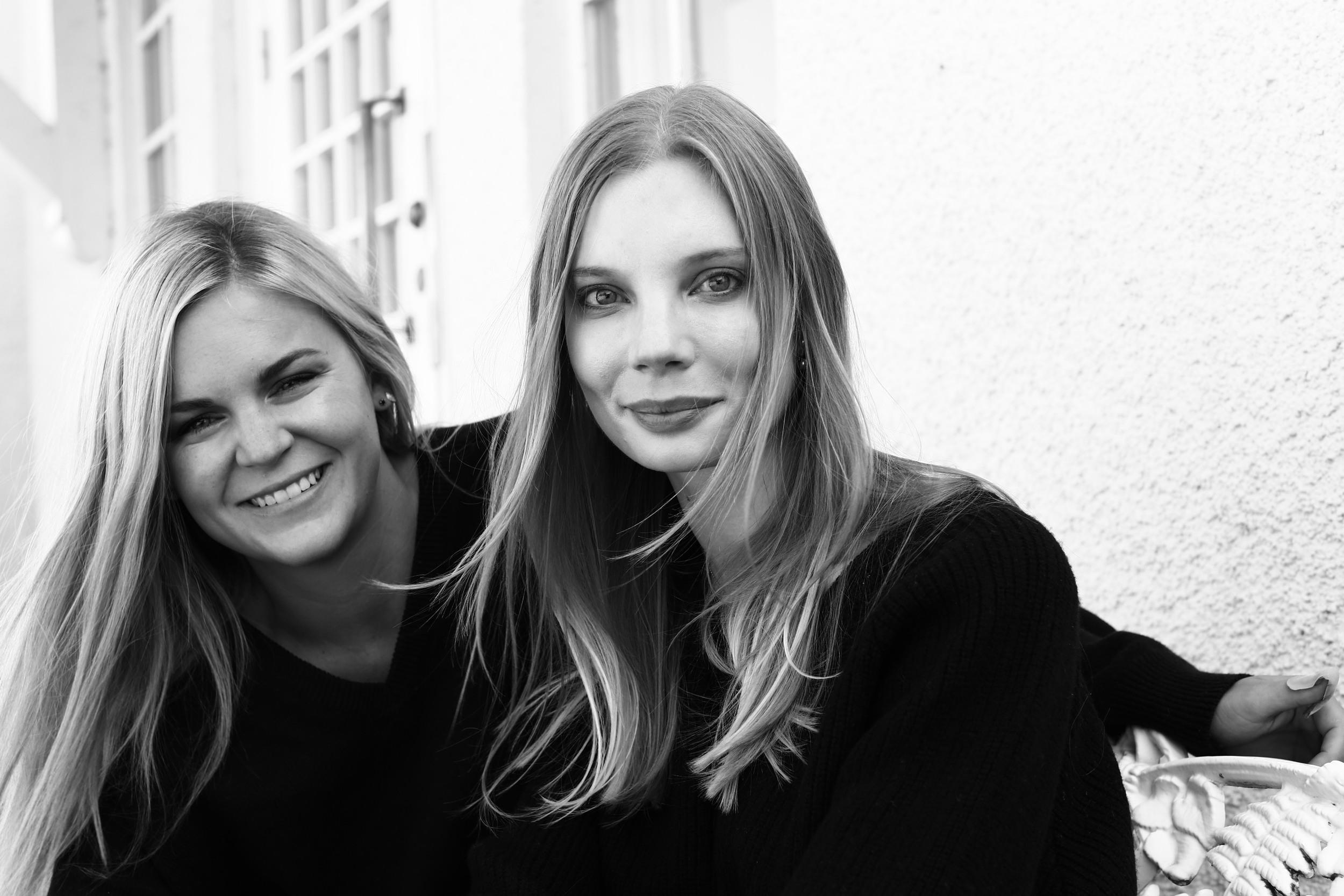 Nadja Forsberg and Lynn Frisinger, Founders of Swedish Stockings