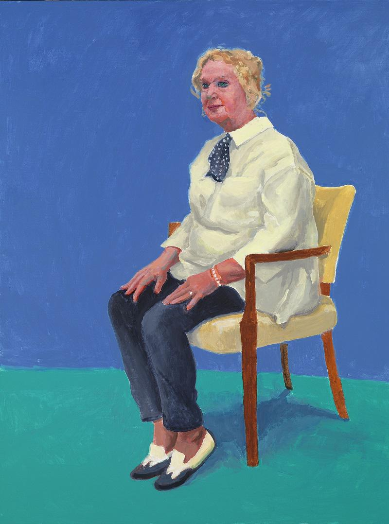 Celia Birtwellmast by David Hockney