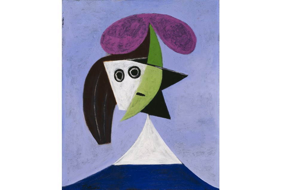 Picasso,  Woman in a Hat (Olga)