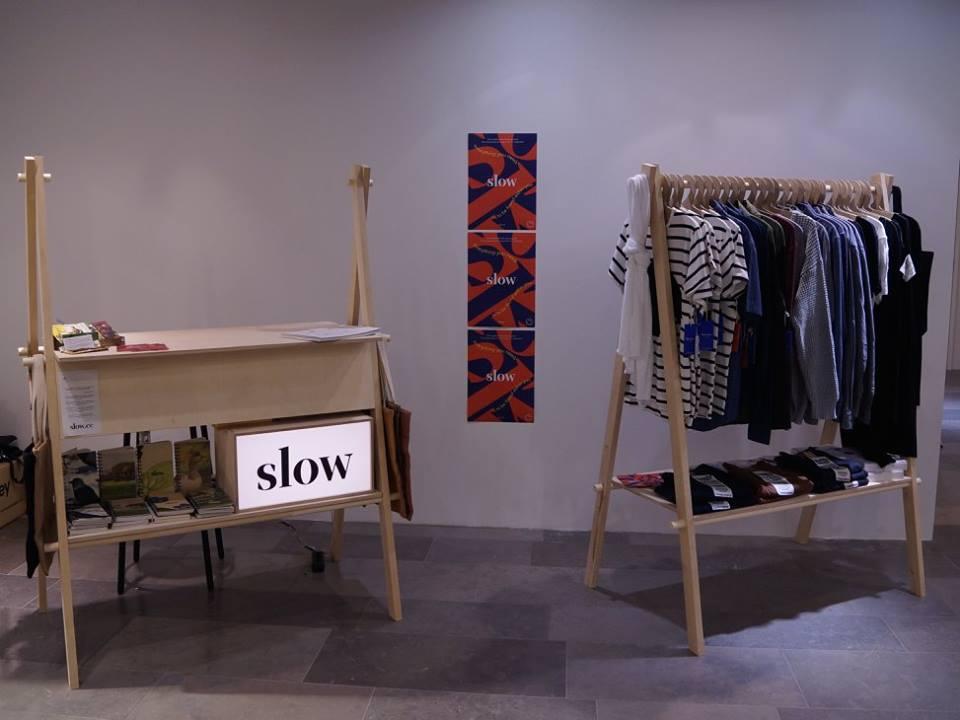Slow.ee PopUp at Tartu Kaubamaja