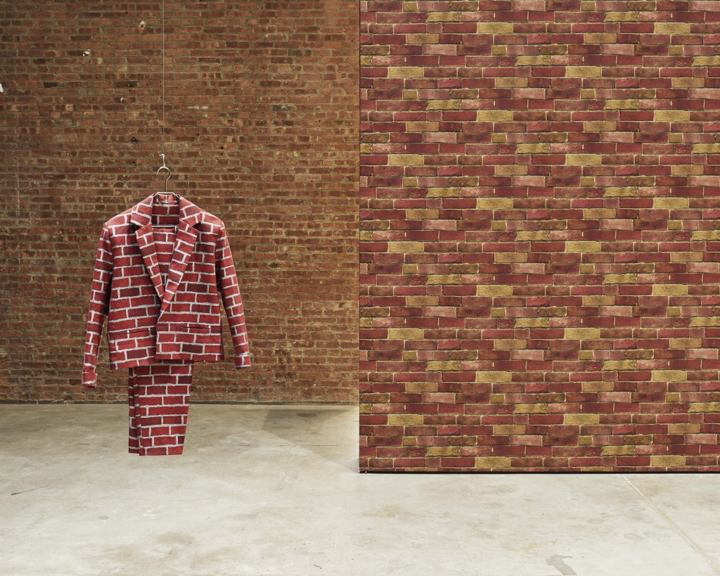 Anthea Hamilton: Brick Suit.