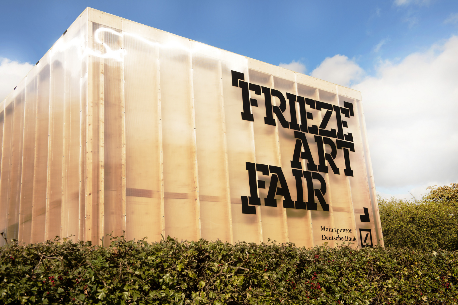 Frieze London and Frieze Masterpiece: Regents Park, 2016.
