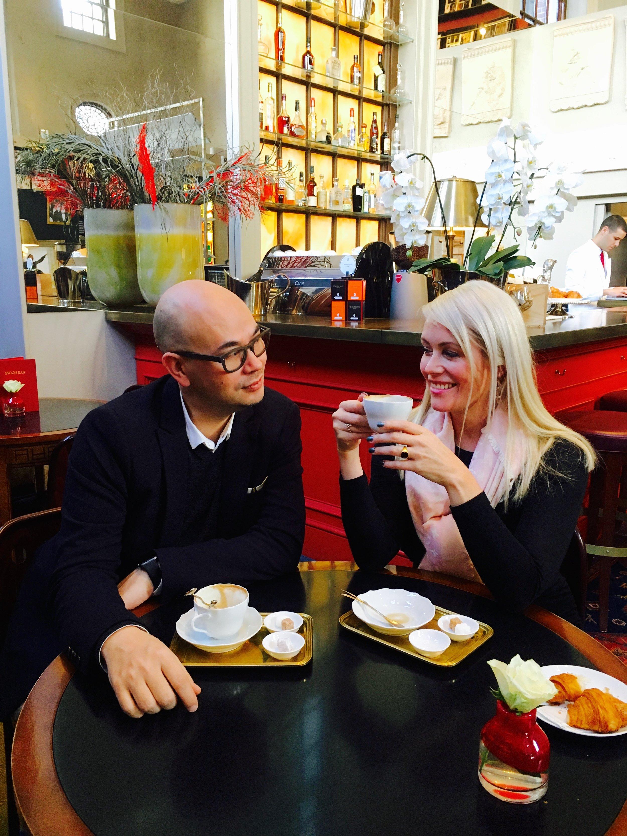 Joni and Anne Kukkohovi, founders of Supermood.