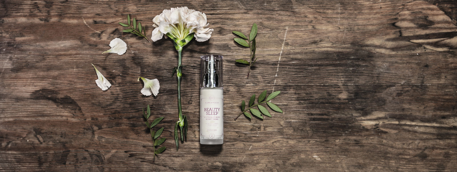 Beauty Sleep: youth restoring night cream.