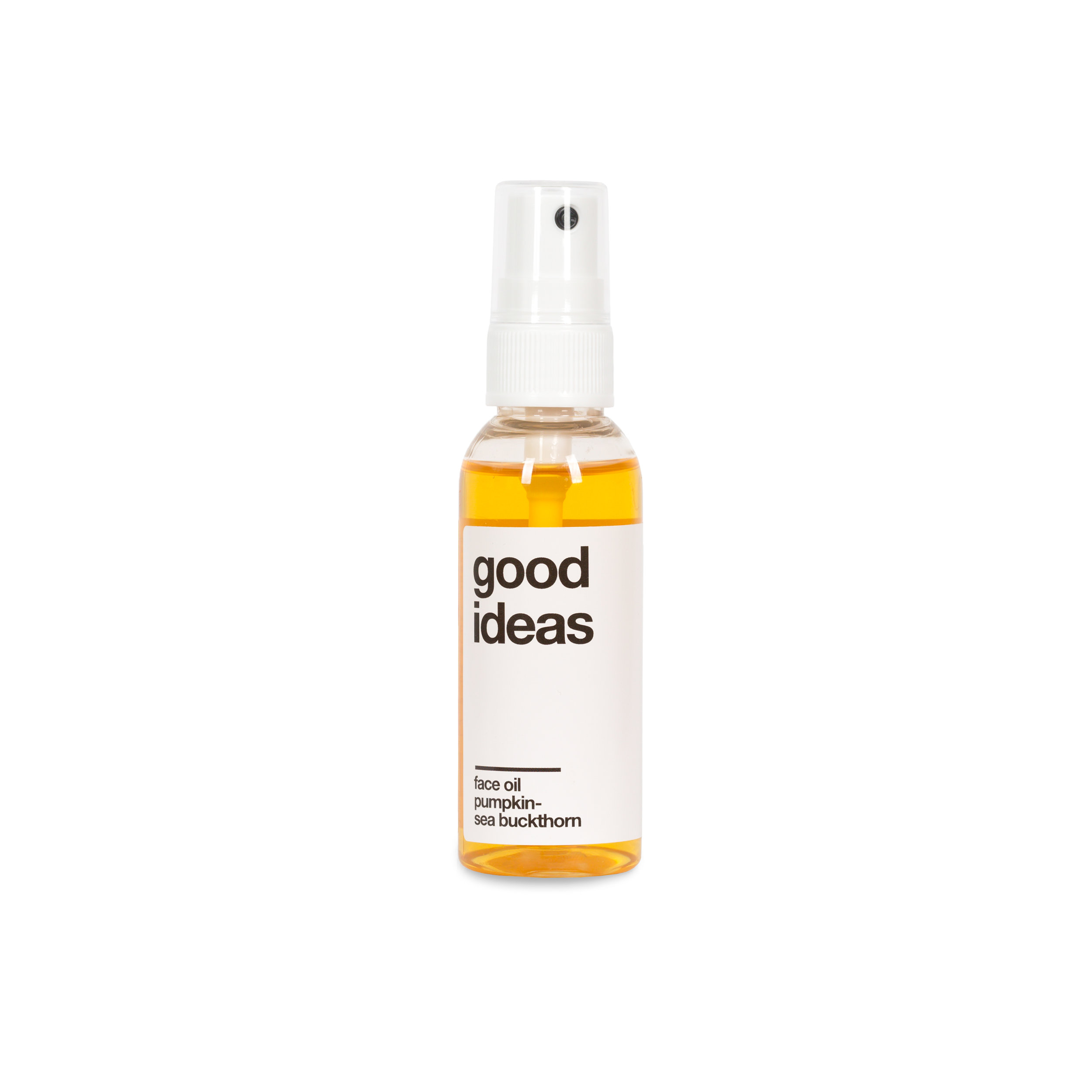'Good Ideas'  Face Oil with Pumpkin and Sea Buckthorn by Moshi