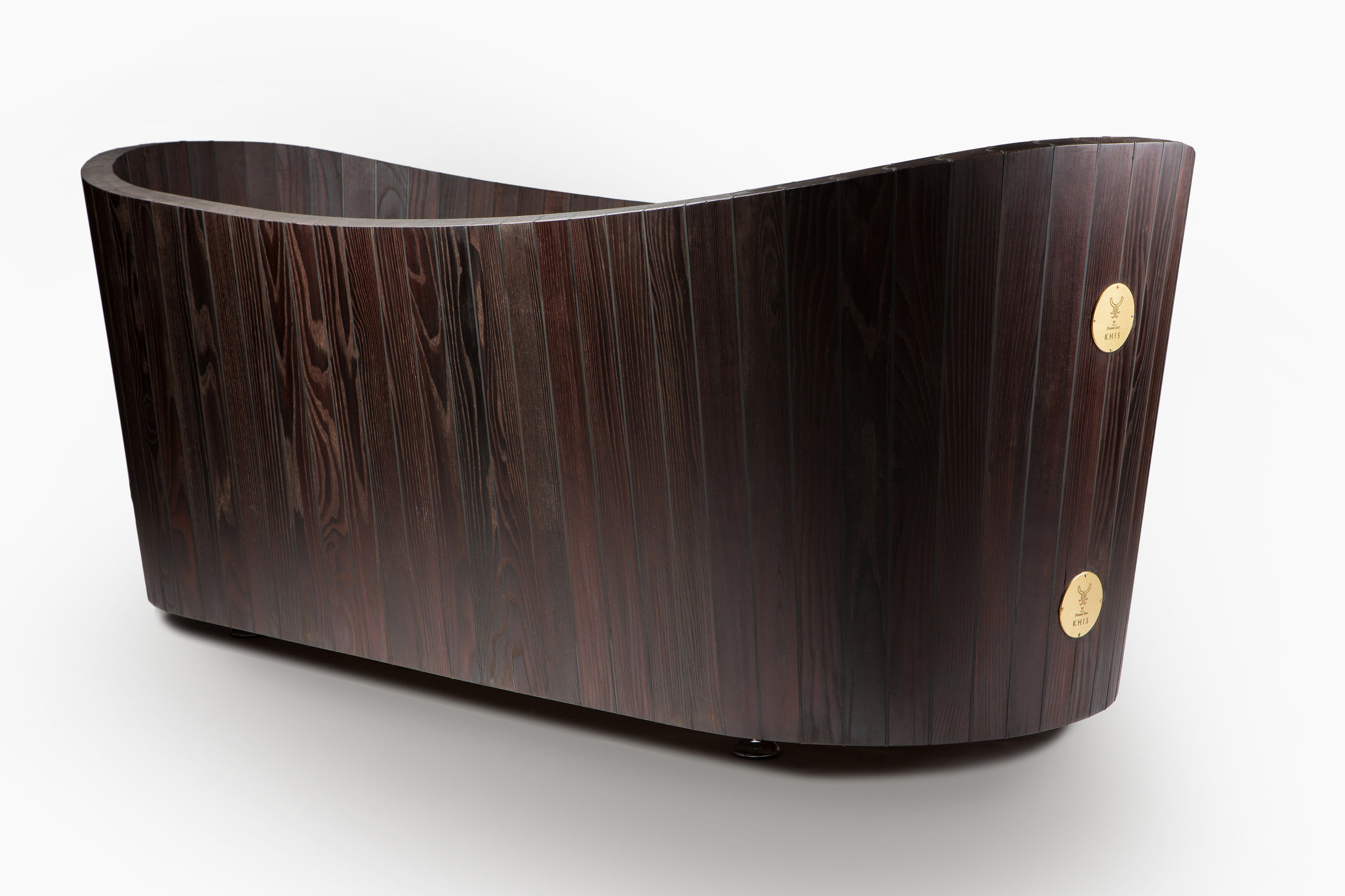 'Eternal KHIS' wooden bathtub.